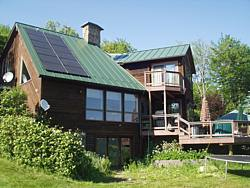 Residential PV electric installation